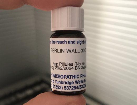 Muro Di Berlino Omeopatico