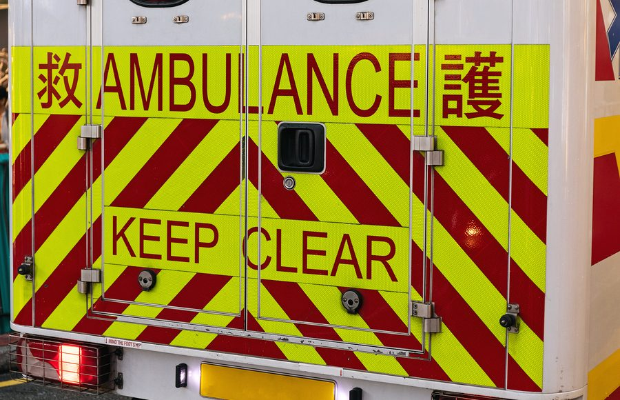 Ambulanza Cina