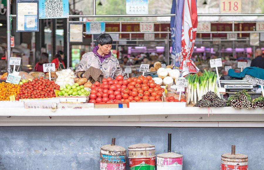 Mercato Wuhan Coronavirus